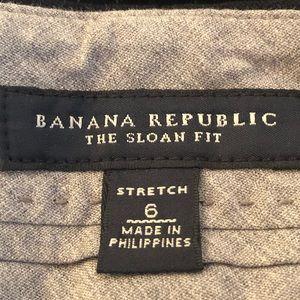 Banana Republic Pants - Banana Republic Sloan Fit Black Pinstripe Pants